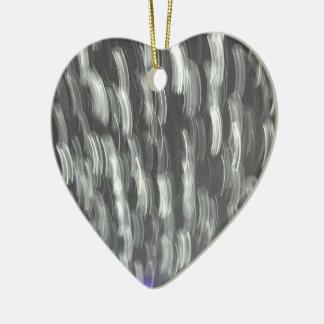 Blizzard Ceramic Heart Decoration