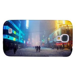 Blizzard In Times Square Galaxy S4 Cover