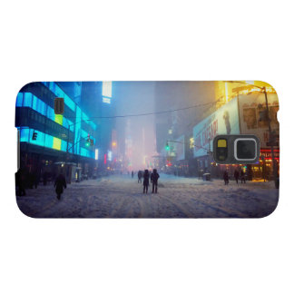 Blizzard In Times Square Galaxy S5 Covers