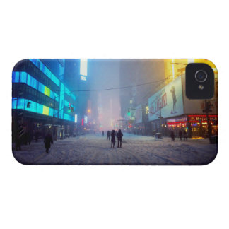Blizzard In Times Square iPhone 4 Case-Mate Case