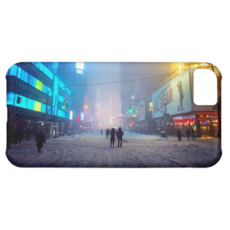 Blizzard In Times Square iPhone 5C Case