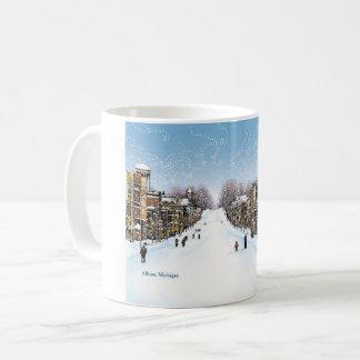 Blizzard of 1978 art coffee mug