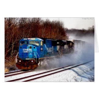 Blizzard on Rails Card