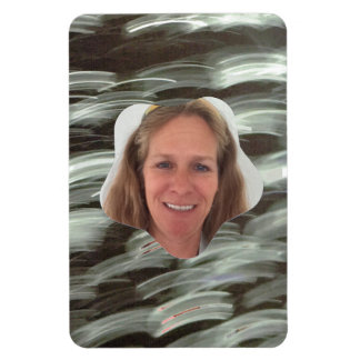 Blizzard Star Photo Frame Rectangular Photo Magnet