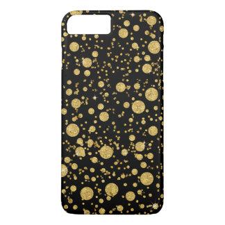 BLK-AJR-CARD-random-bubble-dots-glitter-BACK-G.jpg iPhone 7 Plus Case