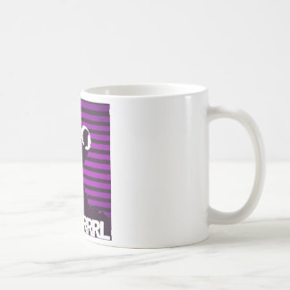 "Blk Grrrl ""it's coffee, not alcohol in this"" mug"