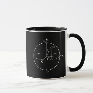 Bloch Sphere | Quantum Bit (Qubit) Physics / Math Mug