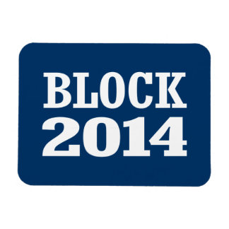 BLOCK 2014 FLEXIBLE MAGNETS