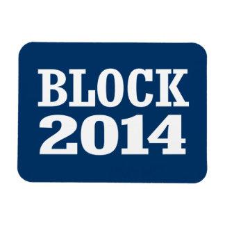 BLOCK 2014 RECTANGULAR MAGNET