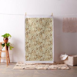 Block desert camouflage fabric