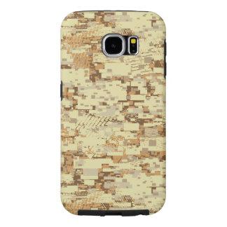 Block desert camouflage samsung galaxy s6 cases