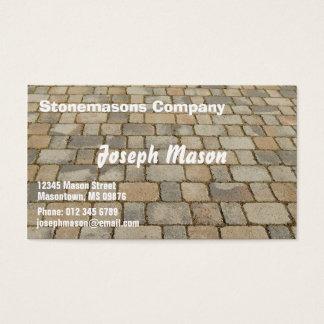 Block for pavements - stonemason
