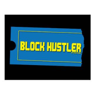 Block Hustler Postcard