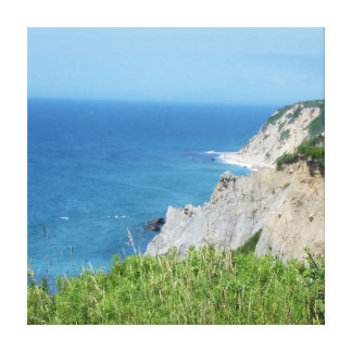 Block Island Bluffs - Block Island, Rhode Island Canvas Print