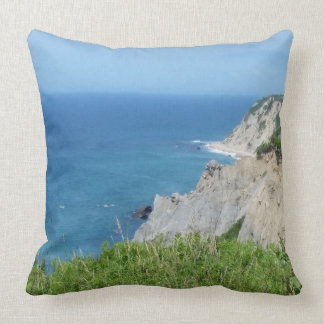 Block Island Bluffs - Block Island, Rhode Island Cushion