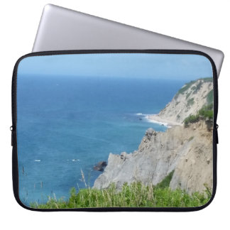 Block Island Bluffs - Block Island, Rhode Island Laptop Sleeve