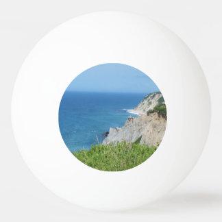 Block Island Bluffs - Block Island, Rhode Island Ping Pong Ball