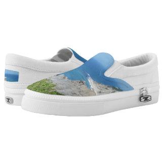 Block Island Bluffs - Block Island, Rhode Island Slip On Shoes