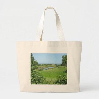 Block Island Champlin Road Meadow Canvas Bag