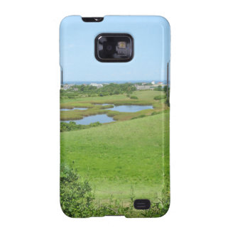 Block Island Champlin Road Meadow Galaxy S2 Case