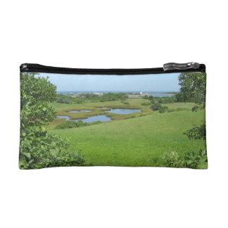 Block Island Champlin Road Meadow Cosmetics Bags