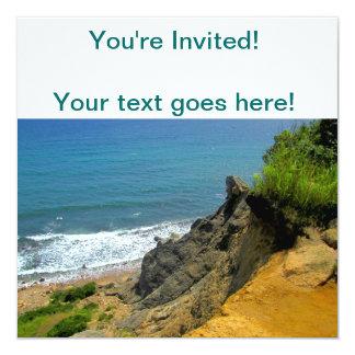 Block Island Corn Cove 13 Cm X 13 Cm Square Invitation Card