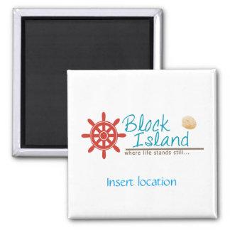 Block Island Custom Magnet