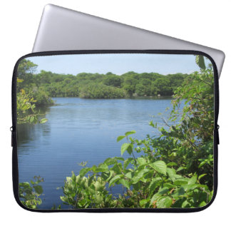 Block Island Fresh Water Pond Computer Sleeve