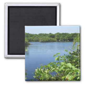 Block Island Fresh Water Pond Fridge Magnet
