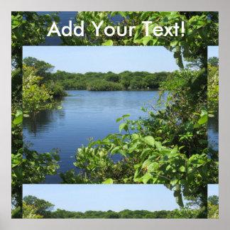 Block Island Fresh Water Pond Poster