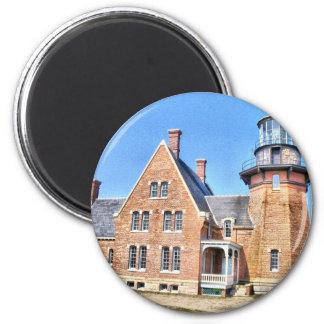 Block Island 6 Cm Round Magnet