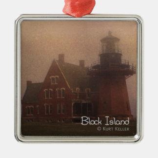 Block Island Metal Ornament