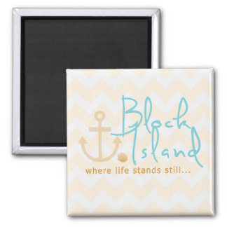 Block Island Nautical Magnet