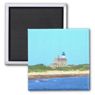 Block Island North Light Refrigerator Magnet