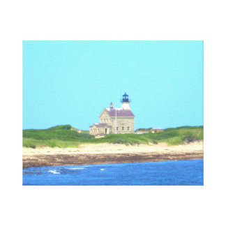 Block Island North Light Stretched Canvas Prints