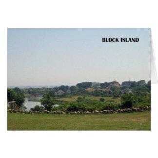 Block Island Note Card