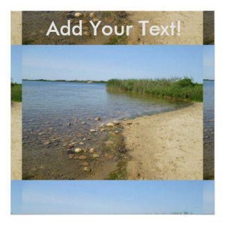 Block Island Pond 2 Poster