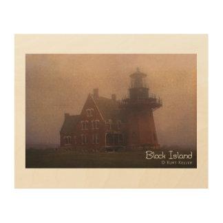 Block Island Wood Canvas