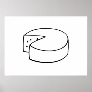 Block of Cheese Print