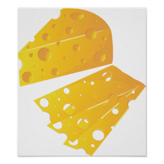 Block Of Cheese Poster