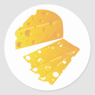 Block Of Cheese Stickers