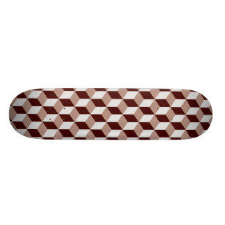 Block Pattern 03 - Retro Skate Board