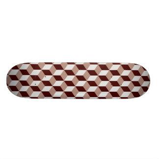 Block Pattern 03 Skateboard