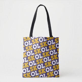 """Block Script """"SKOL"""" - Tote Bag"""