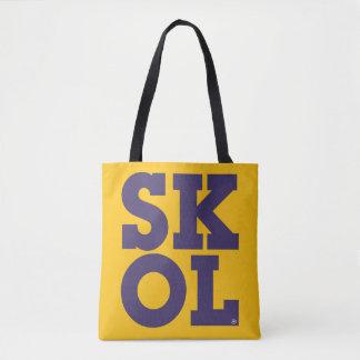 """Block Script """"SKOL"""" - Tote Bag (Yellow)"""
