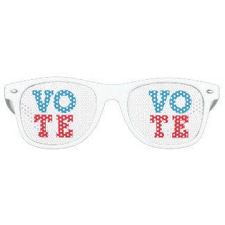 "Block Script ""VOTE"" - Sunglasses"