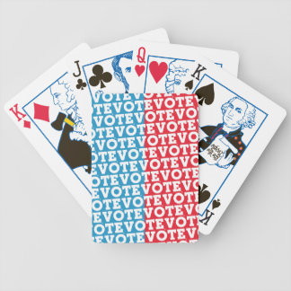 "Block Script ""VOTE Undecided"" - Playing Cards"