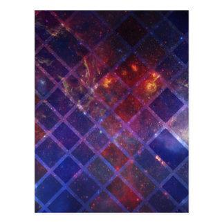 Block Universe Postcard