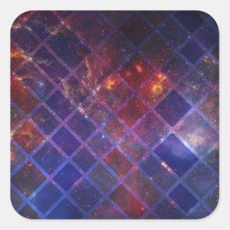 Block Universe Square Sticker