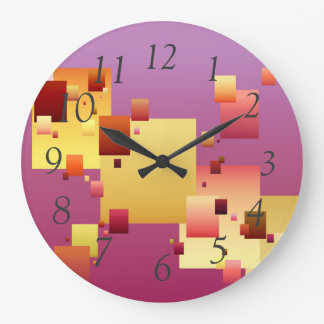 Blockage Large Clock